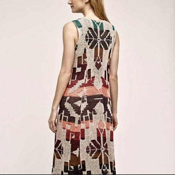 9a759cde368e Anthropologie Jackets & Blazers - Anthropologie Jewel Tone Knit Maxi Duster  Vest